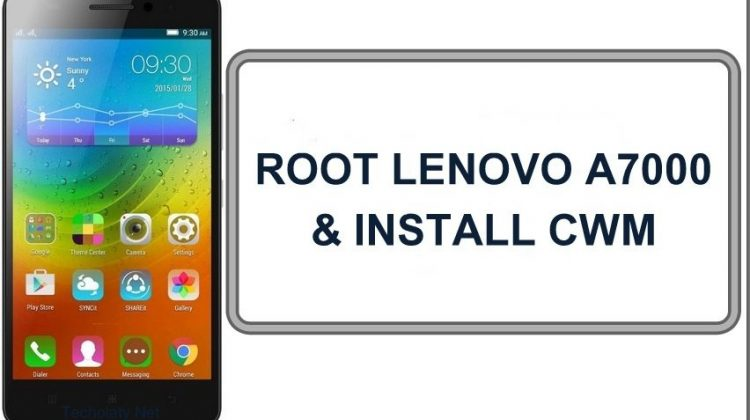 How To Install CWM/TWRP And Root Lenovo A7000