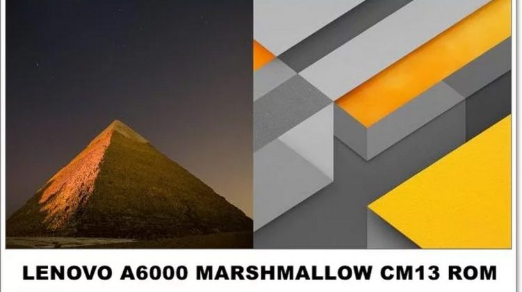 Lenovo A6000/Plus CM 13 Marshmallow ROM 6.0 [UPDATED 18-12-15]
