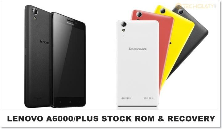 Lenovo A6000/Plus Pure Stock Rom & Recovery [Updated Frequently]