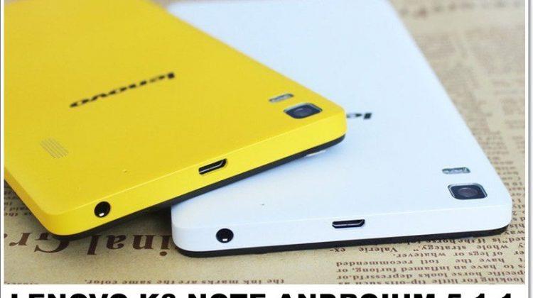 Lenovo K3 Note Androium 5.1.1 Custom Rom