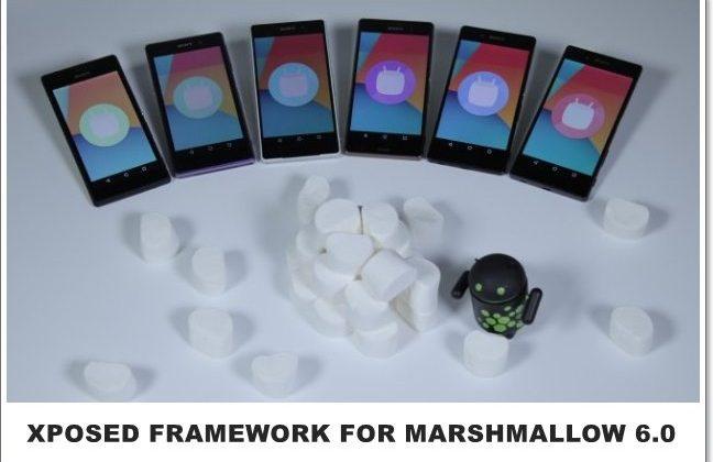 Xposed Framework & Modules For Marshmallow