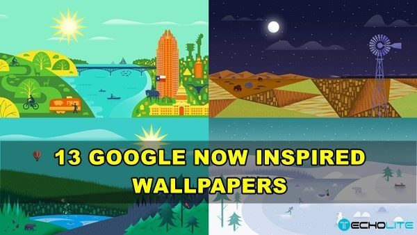 13 Google Now Inspired Wallpapers Pack