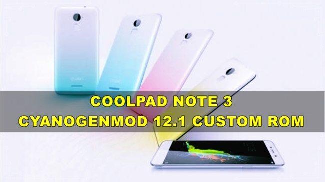 Coolpad Note 3 Custom Rom Cyanogenmod 12.1