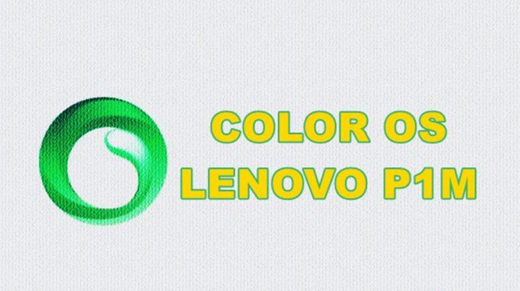 Lenovo P1m Star OS Custom Rom
