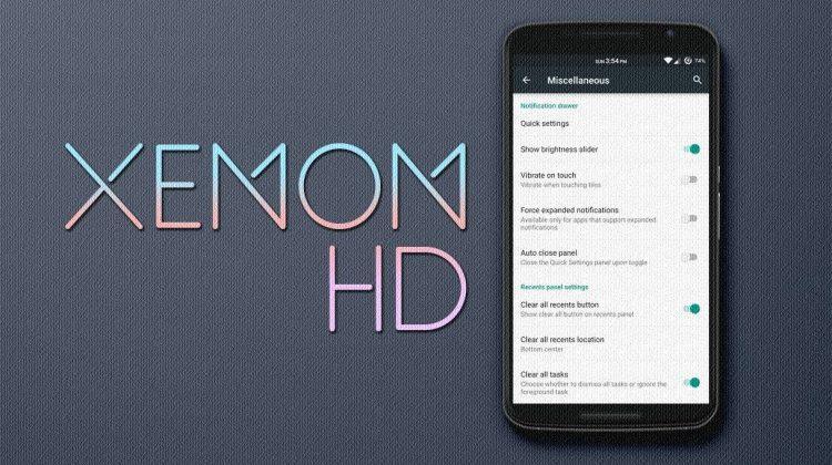 Lenovo P1m Xenon HD 5.1.1 Custom Rom