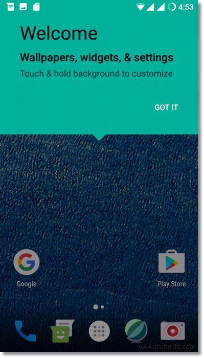 cyanogenmod screenshot