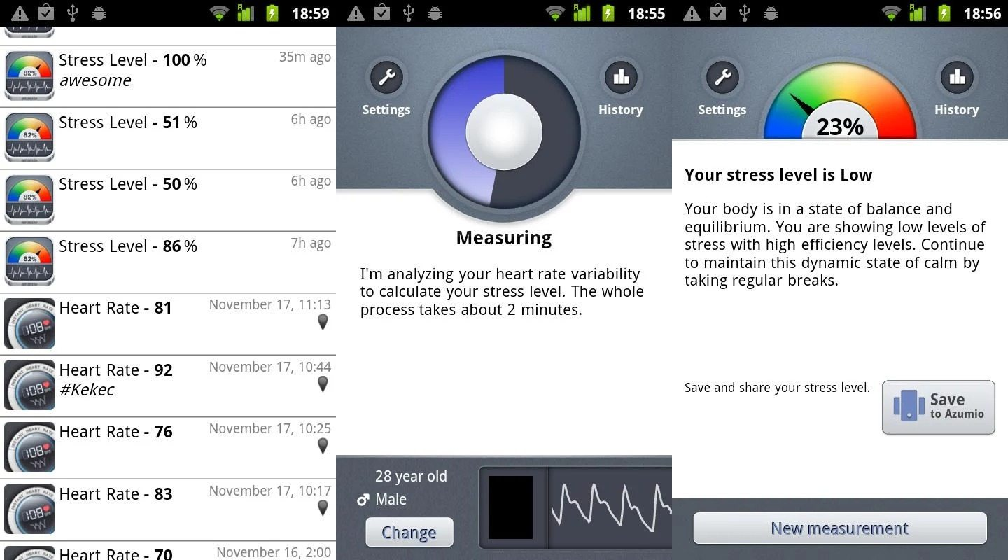 android-stress-recording-app