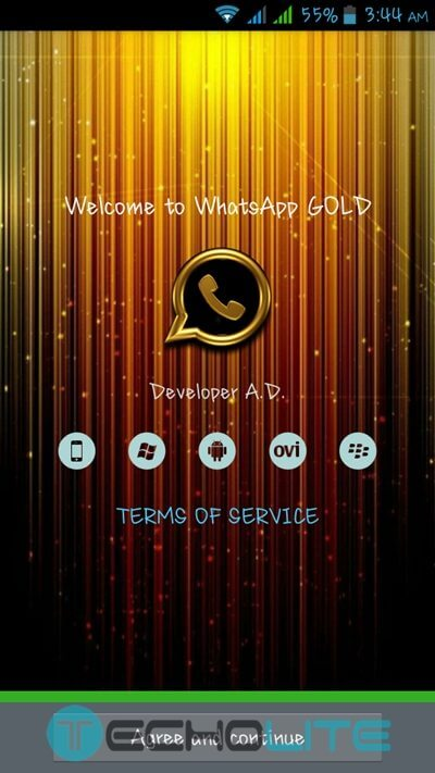 whatsapp plus gold edtion wallpapers