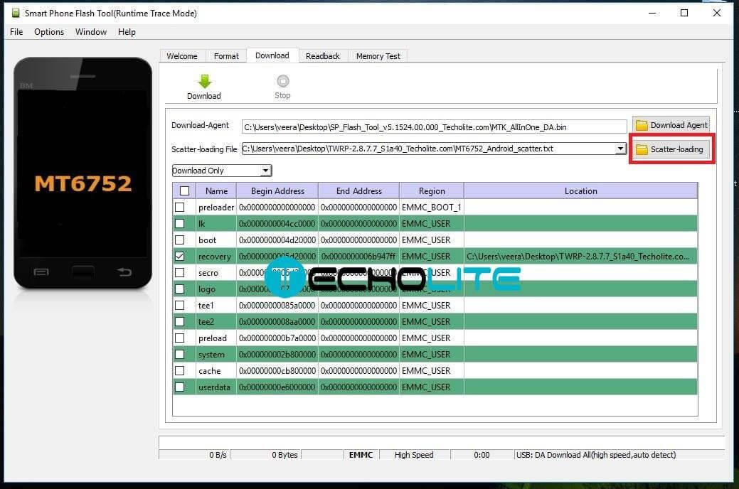 Lenovo S1 Flash Tool