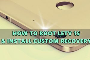 root letv 1s and install twrp