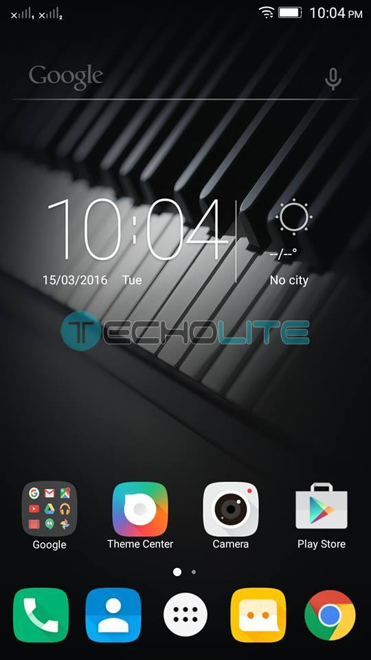 lenovo k4 note marshmallow homescreen