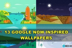 download google now inspired wallpapers