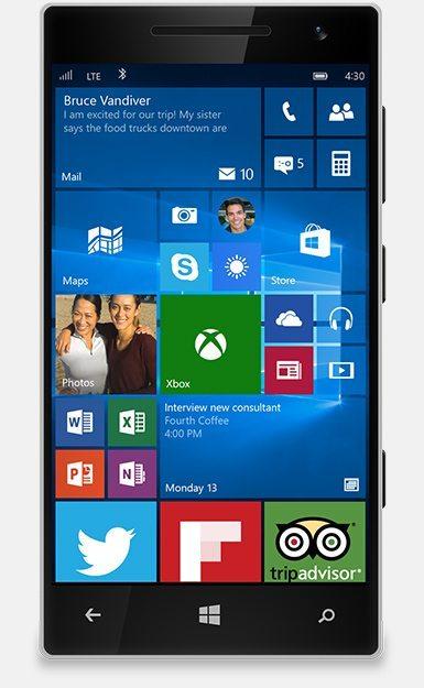 Upgrade To Windows 10 on Phone