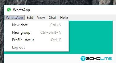 whatsapp pc version options