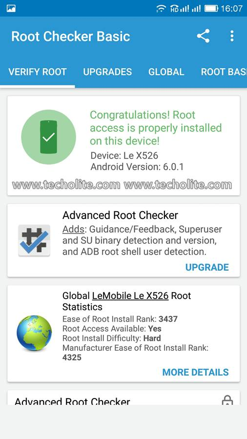 leeco le 2 root checker