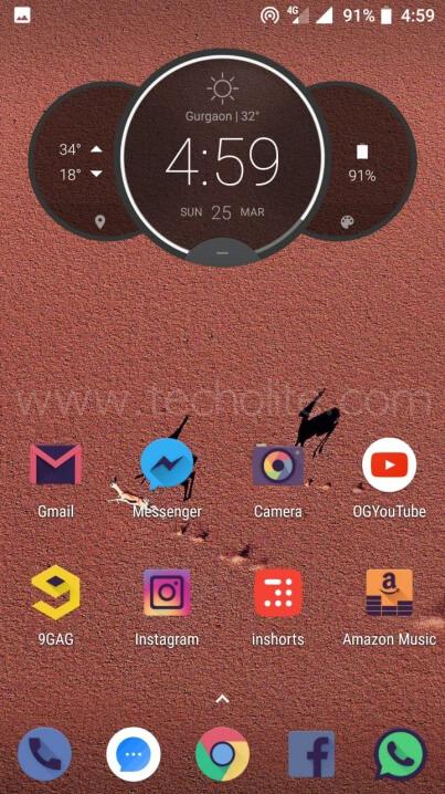 moto g5s plus pixel experience