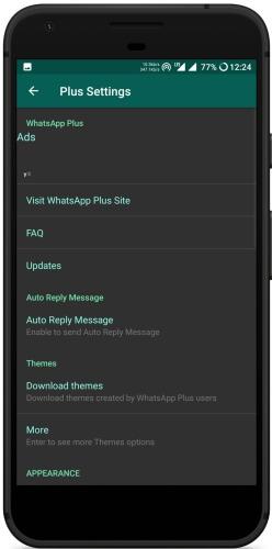whatsapp plus latest 2018 apk